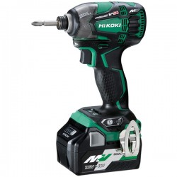 HIKOKI Visseuse à choc WH36DBWRZ MultiVolt 36-18V 2,5-5Ah 210Nm Li-ion Brushless IP56 Triple Hammer HitCase