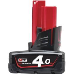 MILWAUKEE Batterie 12V 4Ah - M12 B4 - 4932430065