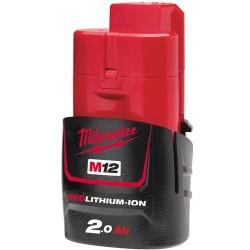MILWAUKEE Batterie 12V 2Ah - M12 B2 - 4932430064