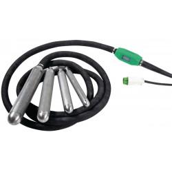 IMER Aiguille vibrante électrique haute fréquence protection thermique VTOA72RT