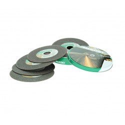 10 disc tronç.inox/métal Ø125