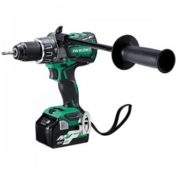 HIKOKI Perceuse visseuse DS36DAWRZ MultiVolt 36-18V 2,5-5Ah 138Nm Li-ion Brushless HitCase