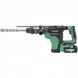 HIKOKI Perfo burineur DH36DMAWAZ MultiVolt  SDSMax 40mm 36-18V - 4,0-8,0Ah Brushless - 7,1 J - Coffret