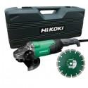 HIKOKI Meuleuse 230mm 2200W 6600trs avec disc diamant