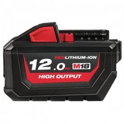 MILWAUKEE Batterie 18V 12Ah High Output M18 HB12 - 4932464260