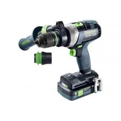 FESTOOL Perceuse-visseuse sans fil QUADRIVE TDC 18/4 5,2/4,0 I-Plus - 575602