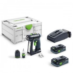 FESTOOL Perceuse visseuse C18 HPC 4,0 I-Plus - 576435