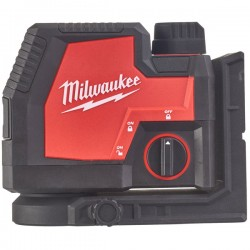 MILWAUKEE Laser 2 lignes vert 4V 3Ah - L4 CLLP-301C - 4933478099