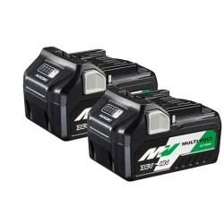 HIKOKI Pack 2 batteries Multivolt 18V/36V  BSL36A18