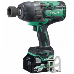 "HIKOKI Boulonneuse à choc WR36DBWRZ MultiVolt 1050Nm 36-18V 2,5-5Ah Brushless carré 1-2"" IP56 HitCase"